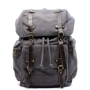 Handbags - NEW Military Canvas Backpack